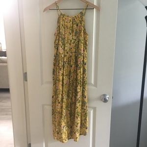 EUC Old Navy Yellow Dress Size XXL 16 Plus